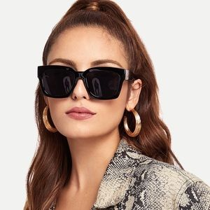 Accessories - Square Lens Sunglasses